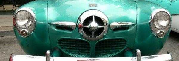 Green Studebaker Bullet Nose Grill Picture