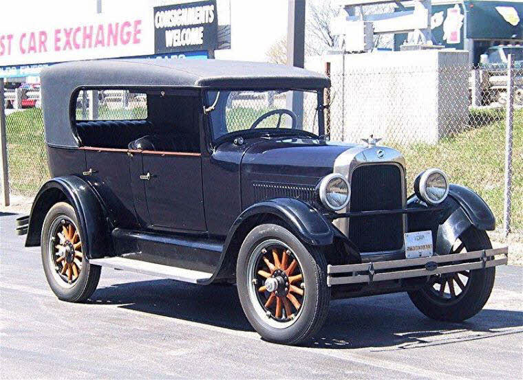 Front Right Blue 1925 Studebaker Duplex Phaeton Car Picture