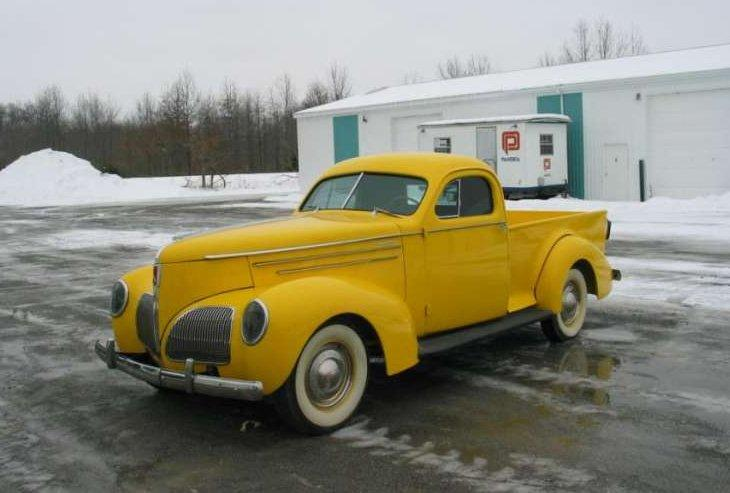 Front Left 1939 Studebaker Express Pickup Truck Picture