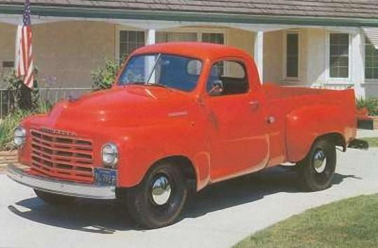 1949 Studebaker Pickup Truck Picture