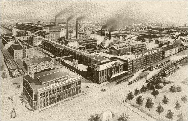 Studebaker South Bend Factories Picture