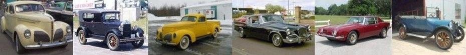 Studebaker Car and Truck Pictures Header